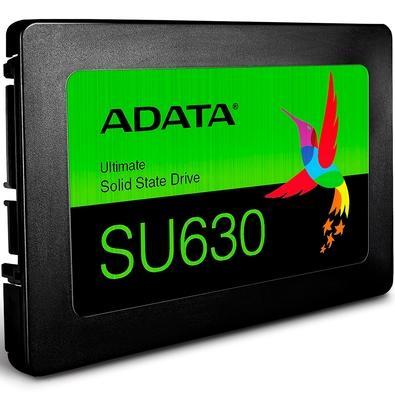 SSD Adata SU630, 960GB, SATA, Leitura 520MB/s, Gravação 450MB/s - ASU630SS-960GQ-R