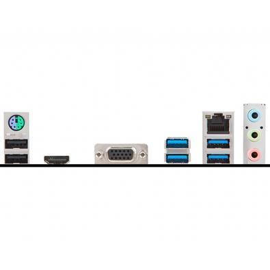 Placa-Mãe MSI B350M Pro-VH Plus, AMD AM4, mATX, DDR4