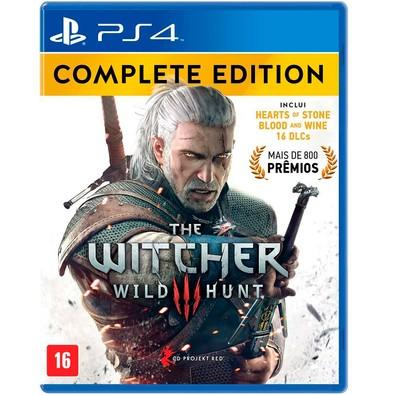 Game The Witcher 3 Complete Edition PS4