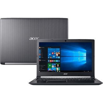 Notebook Acer Intel Core i7-7500U, 8GB, HD 1TB, 15.6´, Windows 10 - A515-51-75RV