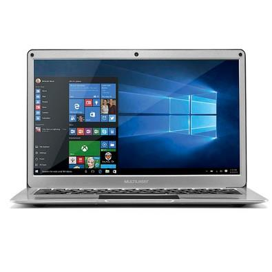 Notebook Multilaser Intel Celeron N3350, 4GB, 64GB, Windows 10, 13.3´, Prata - PC222