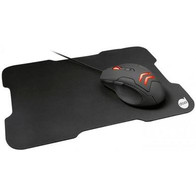 Kit Gamer Dazz Striker - Mouse LED + Mousepad Speed, Médio - 624996