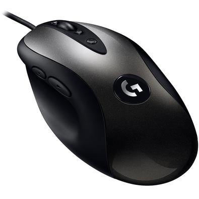 Mouse Gamer Logitech MX518 Hero 16k, 8 Botões, 16000DPI