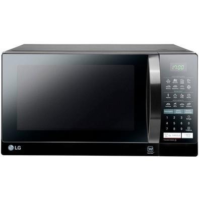Micro-ondas LG 800W, 30L, 110V, Preto - MS3057Q