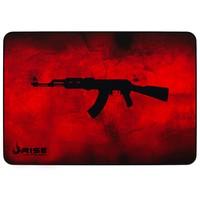 Mousepad Gamer Rise Mode AK47, Speed, Médio (290x210mm), Vermelho - RG-MP-04-AKR