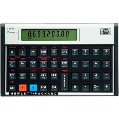 Calculadora Financeira HP 12C Platinum, 130 Funções, Visor LCD, RPN e ALG RPN - F2231AA#B17