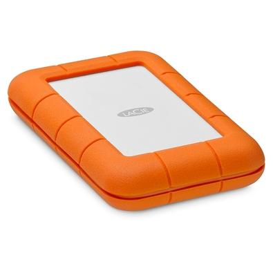 HD LaCie Externo Rugged Thunderbolt, 4TB, USB 3.1-C, Clay Orange - STFS4000800