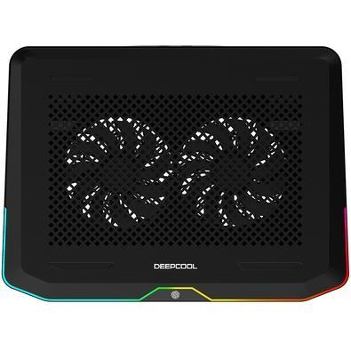 Cooler para Notebook Deepcool N80 RGB, 14cm, até 17.3´ - DP-N222-N80RGB