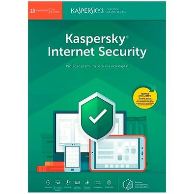 Kaspersky Internet Security 2019 Multidispositivos 10 PCs - Digital para Download