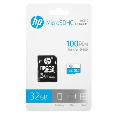 Cartão de Memória HP mi210, 32GB, SDHC UHS-I - HFUD032-001