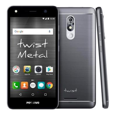 Smartphone Positivo Twist Metal S530, 16GB, 8MP, Tela 5.2´, Cinza - 3900600
