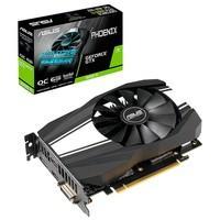 Placa de Vídeo Asus NVIDIA GeForce GTX 1660 Ti OC Phoenix 6GB, GDDR6 - PH-GTX1660TI-O6G