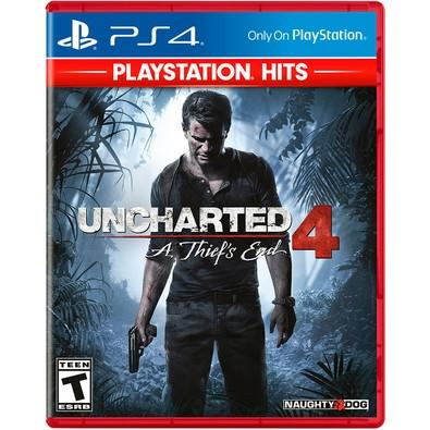 Game Uncharted 4: A Thiefs End Hits PS4