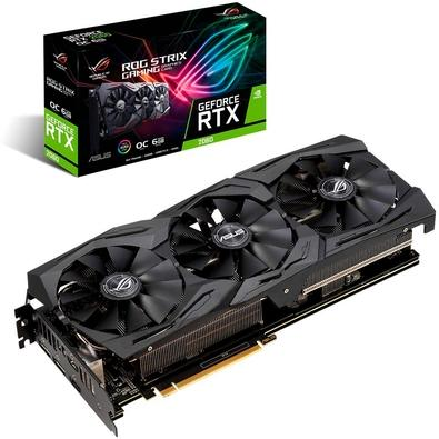 Placa de Vídeo Asus ROG Strix NVIDIA GeForce RTX 2060 EVO 6GB, GDDR6 - ROG-STRIX-RTX2060-O6G-GAMING