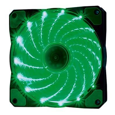 Cooler Fan OEX F20 15 LED Verde, 12cm