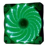 Cooler Fan OEX F20 15 LED Verde, 12cm