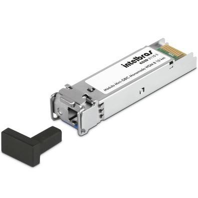 Módulo Mini Intelbras KGSD 2110 B, GBIC GIGA Monomodo 10KM