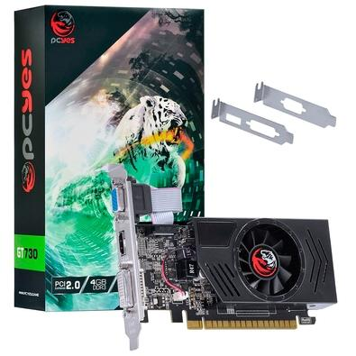 Placa de Vídeo PCYes NVIDIA GeForce GT 730 4GB, DDR3 - PA730GT12804D3