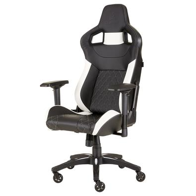 Cadeira Gamer Corsair T1 Race Preta/Branca - CF-9010012-WW