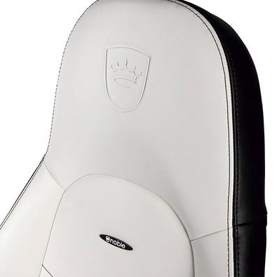 Cadeira Gamer Noblechairs ICON, White Black - NBL-ICN-PU-WBK