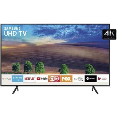 Smart TV LED 58´ UHD 4K Samsung, 3 HDMI, 2 USB, Wi-fi, HDR Premium - UN58NU7100GXZD