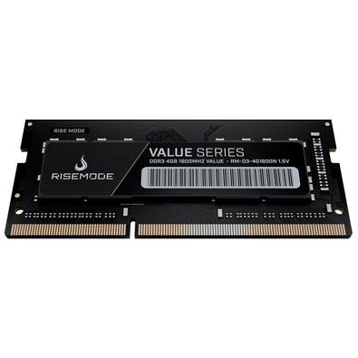 Memória Rise Mode 4GB, 1600MHz, DDR3, Notebook - RM-D3-4G1600N