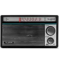 Rádio Portátil Telespark ABC - AM, FM, 6W RMS, Bivolt - 4808