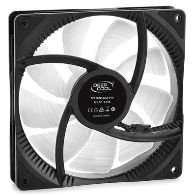 Kit com 2 Cooler FAN Deepcool CF 140 2 em 1, 140mm, RGB - DP-FA-RGB-CF140-2