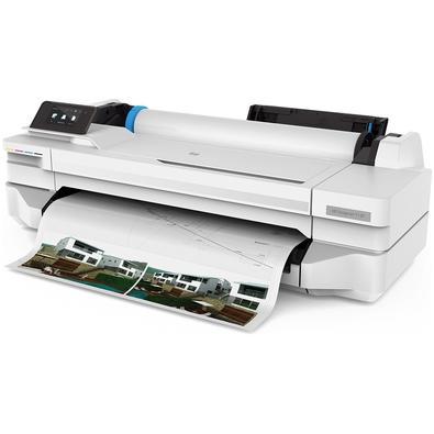 Plotter HP Designjet T130 24´, Jato de Tinta, Colorida, Wi-Fi, Bivolt - T130