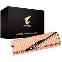 SSD Aorus Aorus NVMe Gen4 SSD 1TB, M.2, Leitura 5000MB/s, Gravação 4400MB/s - GP-ASM2NE6100TTTD