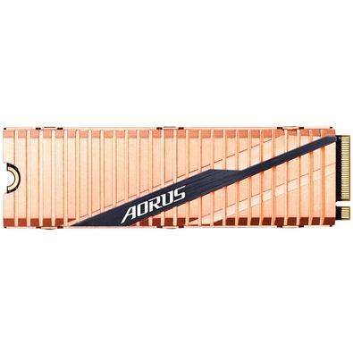 SSD Gigabyte Aorus NVMe Gen4 SSD 1TB, M.2, Leitura 5000MB/s, Gravação 4400MB/s - GP-ASM2NE6100TTTD