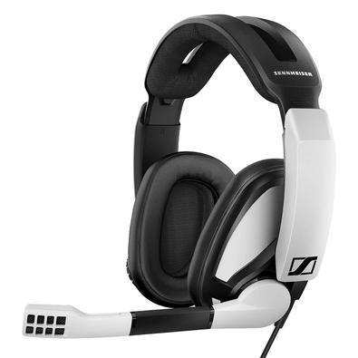 Headset Gamer Sennheiser GSP 301, P2, Branco e Preto - 507202