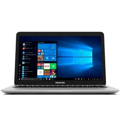 Notebook Positivo Motion C 4500AI, Intel Dual-Core, 4GB, 500 GB, 14´, Linux, Prata - 3001252