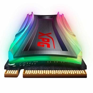 SSD Adata XPG Spectrix S40G, 256GB, M.2,  Leitura 3500MB/s, Gravação 1200MB/s - AS40G-256GT-C