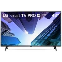 Smart TV LED 43´ Full HD LG, 3 HDMI, 2 USB, Bluetooth, Wi-Fi, Active HDR, ThinQ AI - 43LM631C0SB.BWZ