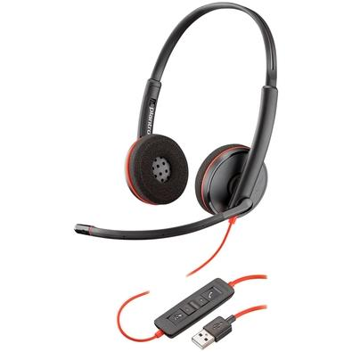 Headset Plantronics Blacwire C3220, USB - 209745-101