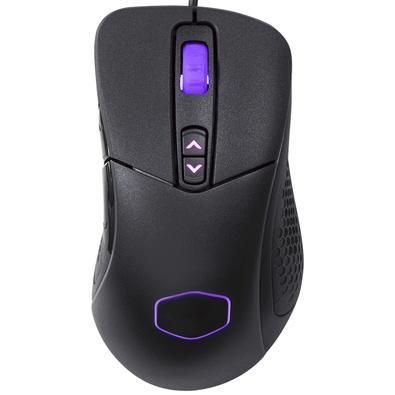 Mouse Gamer Cooler Master MM531, RGB, 7 Botões, 12000DPI - MM-531-KKW01