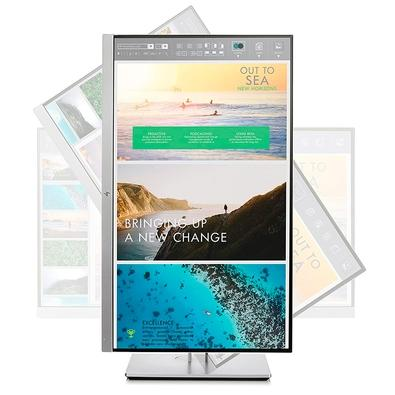 Monitor HP LED 23´, Full HD, IPS, HDMI, Prata - E233