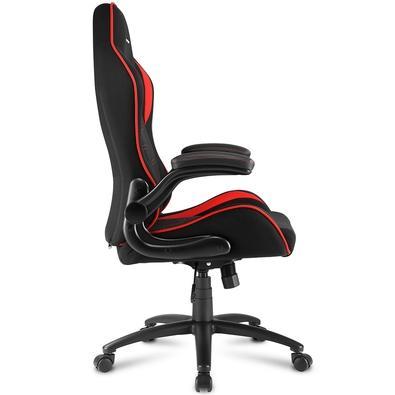 Cadeira Gamer Sharkoon Elbrus 1, Black Red