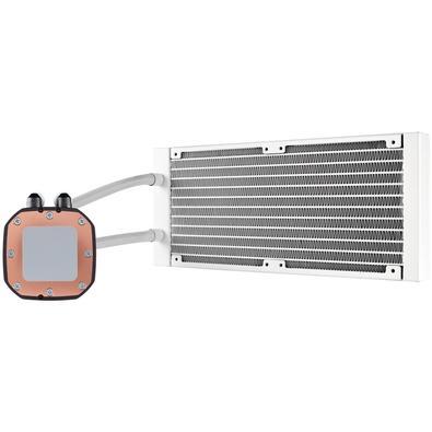 Water Cooler Corsair H100i RGB Platinum SE Hydro Series, 240mm, RGB, Branco - CW-9060042-WW