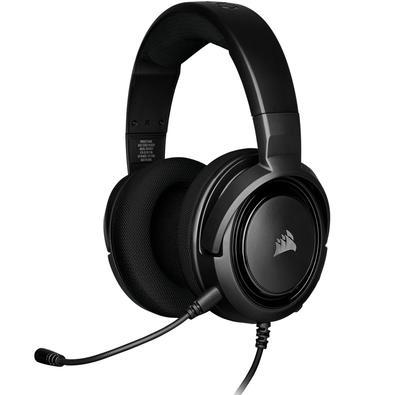 Headset Gamer Corsair HS35 Stereo, Drivers 50mm, Carbon - CA-9011195-NA