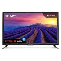 Smart TV LED 43´ Multilaser, Conversor Digital, 2 HDMI, 2 USB, Wi-Fi - TL004
