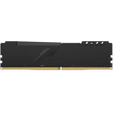 Memória HyperX Fury, 8GB, 2666MHz, DDR4, CL16, Preto - HX426C16FB3/8