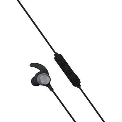 Fone de Ouvido Bluetooth Intra-Auricular Geonav Aermove, Com Microfone, Recarregável, Cinza Espacial - AER01B