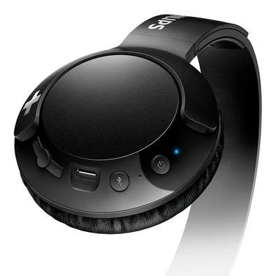 Headphone Bluetooth Philips Bass+ - SHB3075BK/00