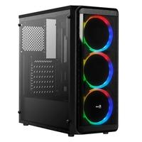 Gabinete Gamer Aerocool SI-5200 Window ATX, RGB, com FAN, Lateral e Frontal em Acrílico - 68557