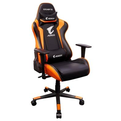 Cadeira Gamer Gigabyte AORUS AGC300 Black/Orange - GP-AGC300 V2