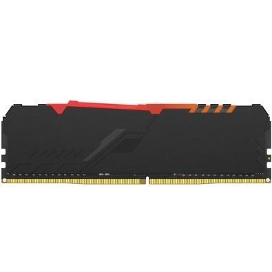 Memória HyperX Fury RGB, 16GB, 3200MHz, DDR4, CL16, Preto - HX432C16FB3A/16