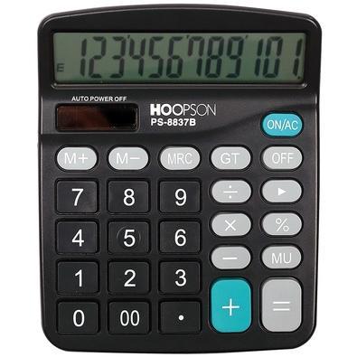 Calculadora Eletrônica Hoopson, 12 Dígitos - PS-8837B