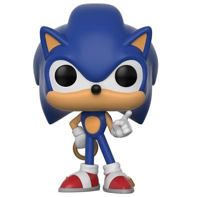 Funko POP! Sonic W/ Ring, Sonic - 283